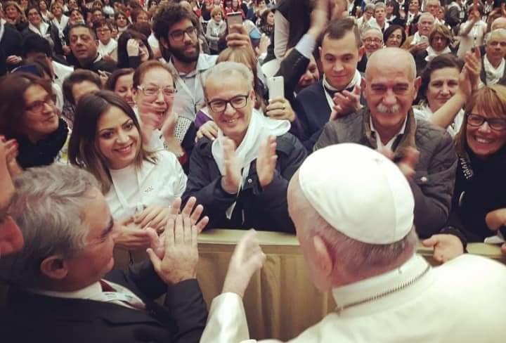ANTEAS: udienza da Papa Francesco con CSV 30.11.2018
