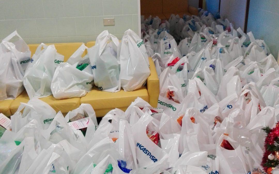 ANTEAS AMICA consegna pacchi di Natale al centro di solidarietà mensa del povero (Elmas) 22.12.2018
