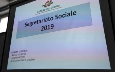 Anteas Ogliastra e Anteas Sardegna. Segretariato Sociale