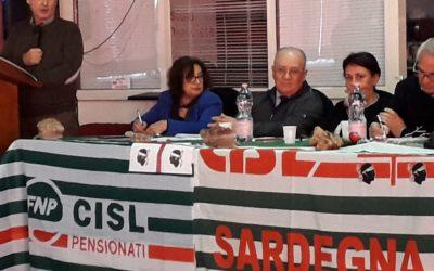 Oggi Anteas al Consiglio Generale della Federazione Pensionati Cisl se Sulcis iglesiente