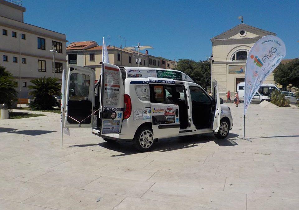 Un nuovo taxi solidale a Porto Torres