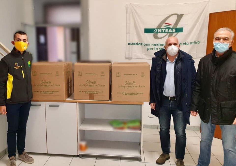 Coldiretti e Anteas collaborazione solidale a Sorso